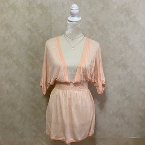 ❤️Victoria's Secret Peach Pink Knit Tunic XS/S❤️